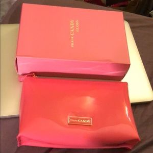 NEW IN BOX💕 Authentic Pink Prada Makeup Bag Pouch